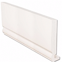 White Ogee uPVC Replacement Fascia Board 16mm 5mt